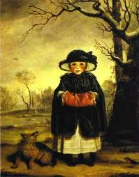 Lady Caroline Scott as Winter; image from Commons Wikimedia