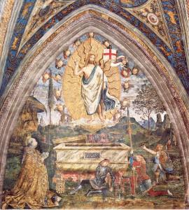 "Pinturicchio ""Resurrection of Christ"""