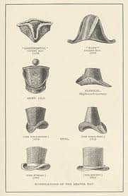Some varieties of the beaver hat