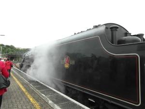 Engine Arriving