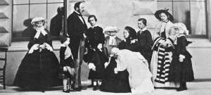 Queen Victoria's family, public domain