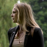 Liza Campbell, daughter of the 25th Thane of Cawdor; photo from NYT