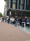 Line outside Anne Frank House