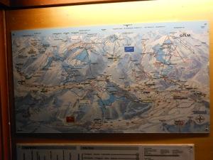 Schruns-Tschagguns Ski Map