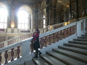 Staircase of the Kunsthistorisches Museum