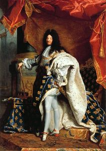 Louis XIV by Rigaud, Public Domain