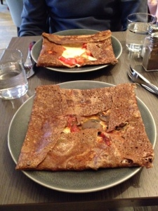 Crepe with Ratatouille