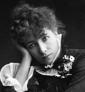 Sarah Bernhardt, Public Domain