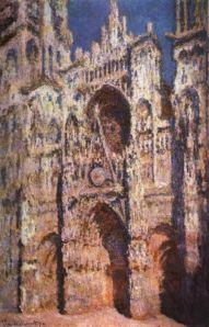 """Rouen Cathedral,"" Claude Monet, 1894, Public Domain"