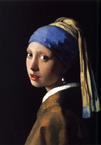 The Girl with the Pearl Earring, Johannes Vermeer, c. 1665, Public Domain