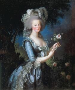 """Marie Antoinette,"" Elisabeth Vigee-LeBrun, 1783, Public Domain"