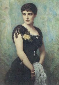 Jennie Jerome Churchill, , circa 1880, Public Domain