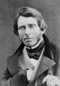 John Ruskin in 1863, photograph by William Downey, Public Domain
