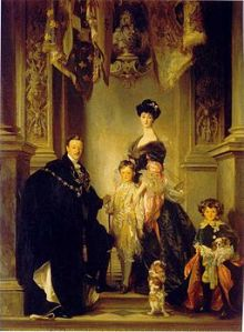 Duke of Marlborough and His Family, John SInger Sargent, 1905, Public Domain