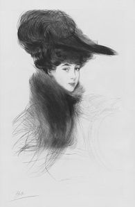 La Duchess de Marlborough, Helleu, 1901, Public Domain