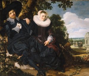 Portrait of a Couple, Franz Hals, c. 1622, Amsterdam Rijskmuseum