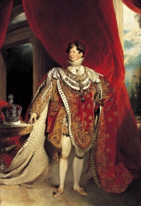 Coronation Portrait, George IV, Sir Thomas Lawrence, 1821, Public Domain