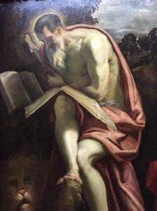 St. Jerome, Jacopo Tintoretto, Kunsthistorisches Museum, Vienna