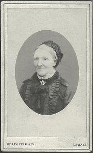 Photo of Anna van Gogh, Public Domain