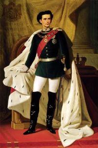 """King Ludwig II of Bavaria,"" Ferdinand Piloty, 1865, Public Domain"