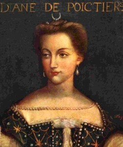 Diane de Poitiers, portrait by unknown artist, Public Domain