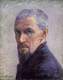 Self Portrait, Gustave Caillebotte, circa 1892, Public Domain