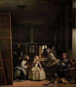 """Diego Velazquez, """"Las Meninas,"""" 1656-7, Public Domain, Prado Museum"""