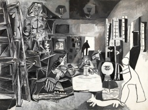 "Pablo Picasso, ""Las Meninas,"" image from Guggenheim website cited below"