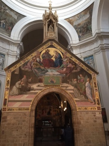 Porziuncula in Basilica of St. Mary of the Angels, Assisi