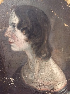 Emily Bronte, portrait by Branwell Bronte