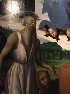 San Girolamo Penitente, Il Perugino, 1512
