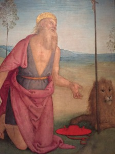 St. Jerome, Pintoricchio, around 1495