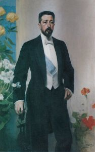 Prinz Eugen, Duke of Narke, 1910, painting by Anders Zorn, Public Domain